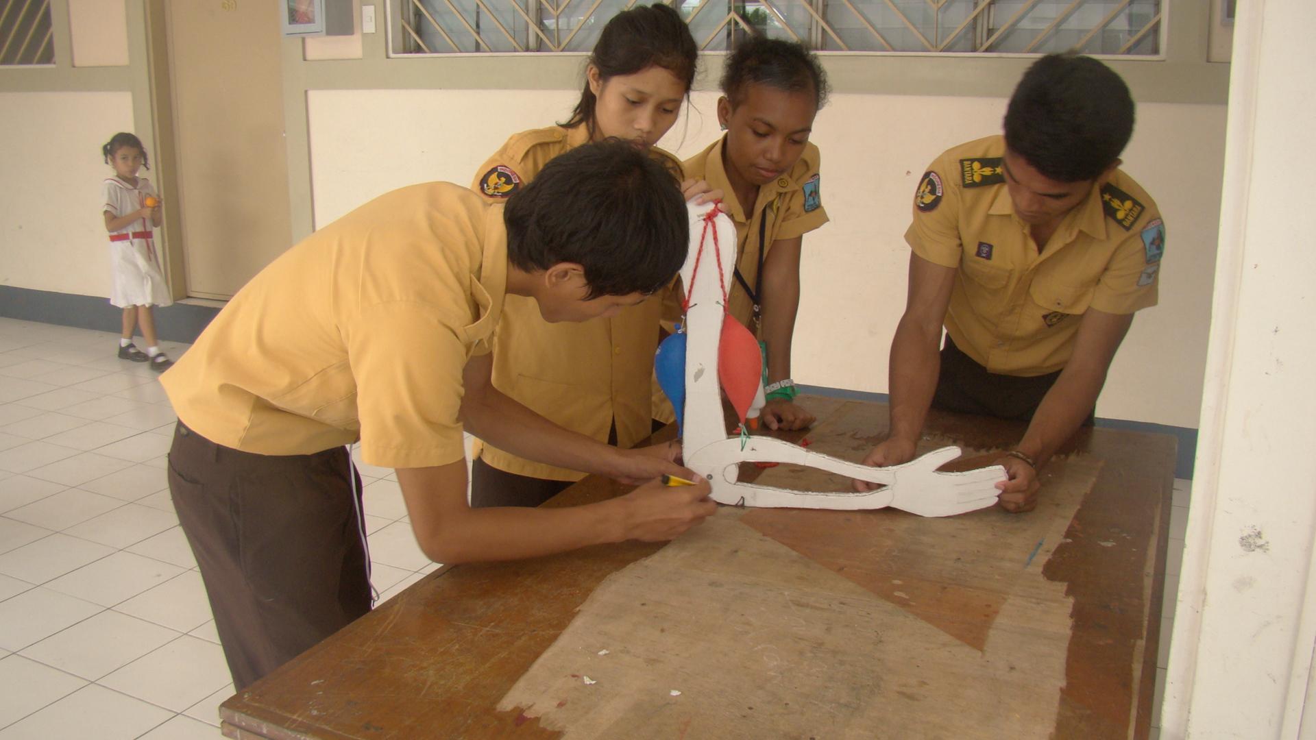 Cara Membuat Alat Peraga Ipa Dengan Bahan Sederhana Karya Dan Kreasi Siswa Sekolah Indonesia